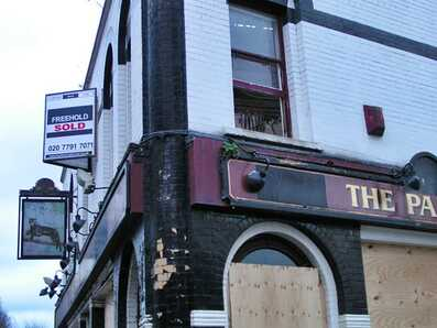 The Panther in Bethnal Green E2, another closed down pub