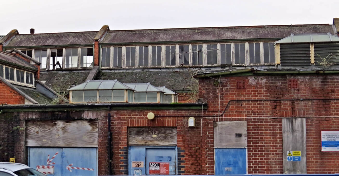 Picture of derelict parts of Whipps Cross Hospital in Leytonstone, London