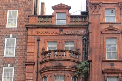 the Samaritan Hospital building was listed by English Heritage as Grade II. The Hospital closed in 1997 and has remained empty & derelict ever since