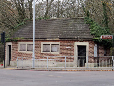 derelict public toilets on Shooters Hill Rd, Woolwich SE18