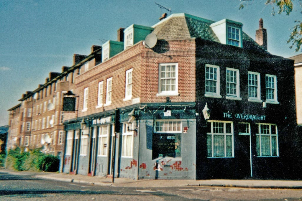Duke of Sussex pub on Haggerston Road was renamed The Overdraught Pub in 1999 until  closure in 2005. The pub was demolished 2011
